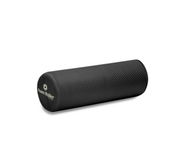 "Merrithew Health & Fitness Foam Roller Deluxe – 18"" short-black (ST-06093)"
