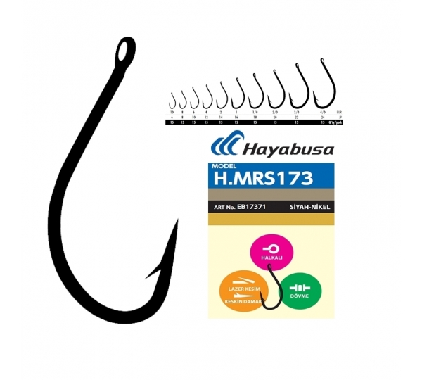 HMRS 173 BLACK NİCKEL  15 Lİ PK  NO: *4/0