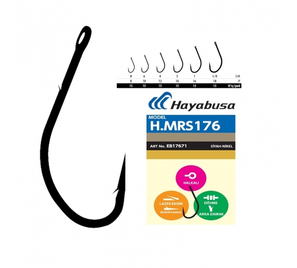 HMRS 176 BLACK NICKEL  15  Lİ  PK  NO: 1