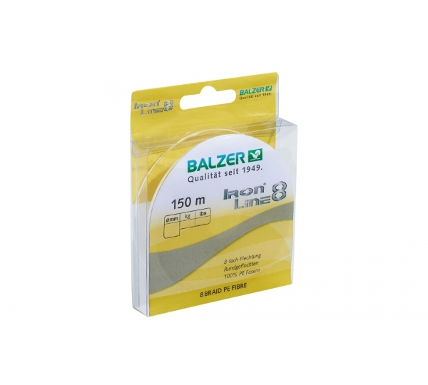 BALZER IRON LINE 8 SARI, 150MT, 0,21MM, 15,4KG